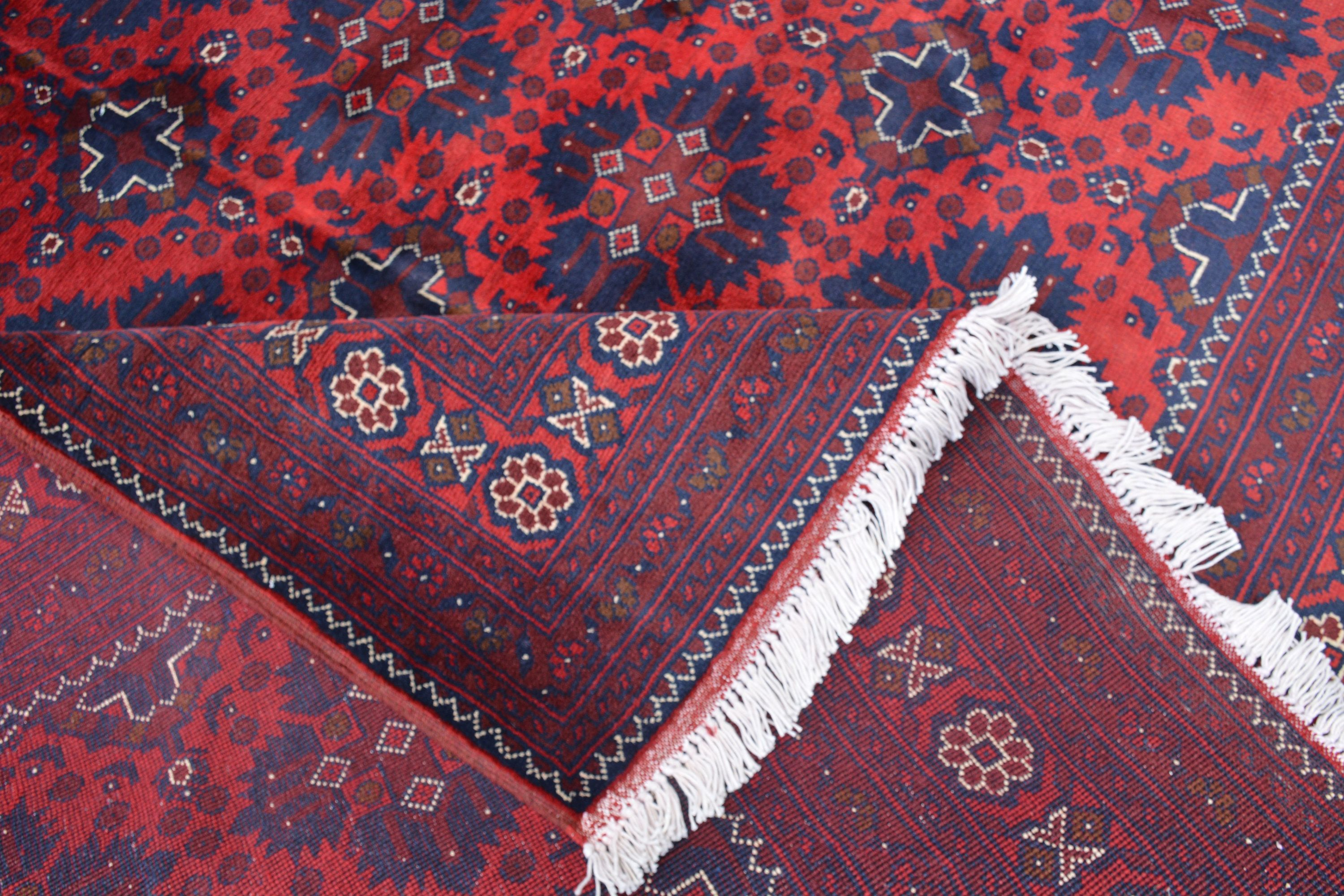 7x10 Ft Free Shipping Afghan Rug