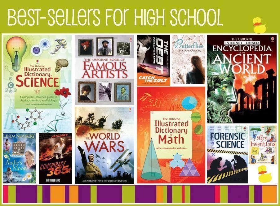 Usborne recommendations for high schoolers  Renew Usborne