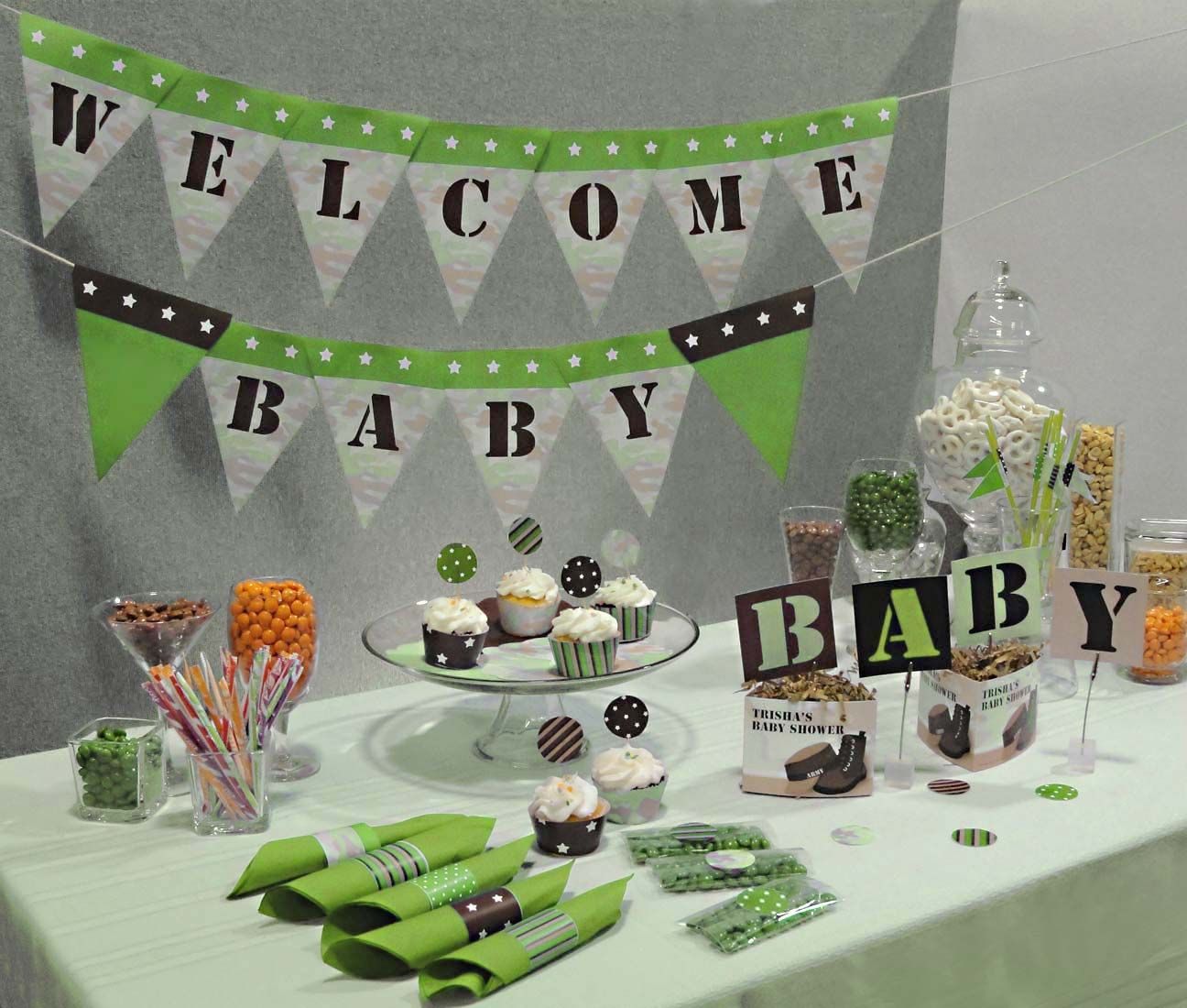 camo baby shower thank you favors | selection for pink camo jan am because camouflage more detail & camo baby shower thank you favors | selection for pink camo jan am ...