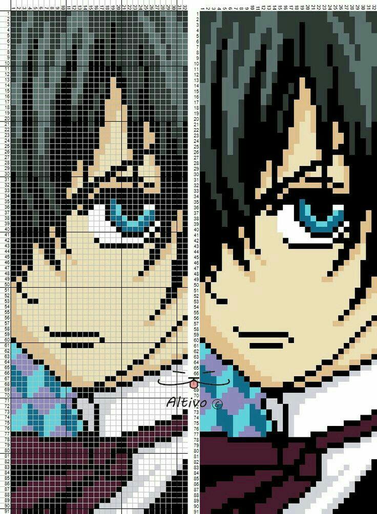 Anime pixel art image by Lucy Dragneel on Anime Pixel Art