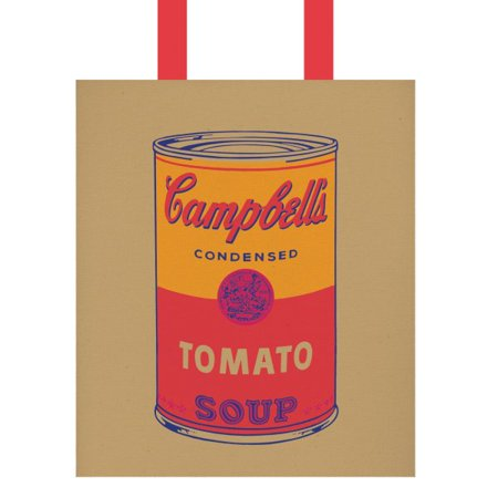 Tote Bag Canvas Andy Warhol Campbell Soup Walmart Com In 2020 Campbell S Soup Cans Andy Warhol Campbell Soup