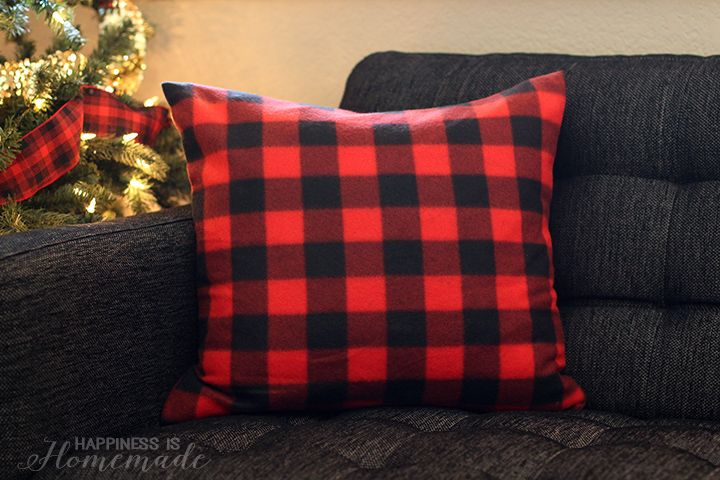 Buffalo Check Plaid Pillows from a $3