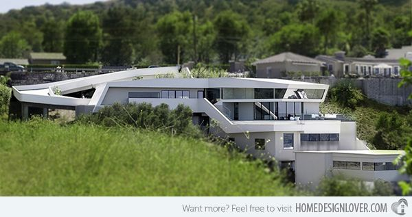 15 Unbelievably Amazing Futuristic House Designs | Pinterest ...