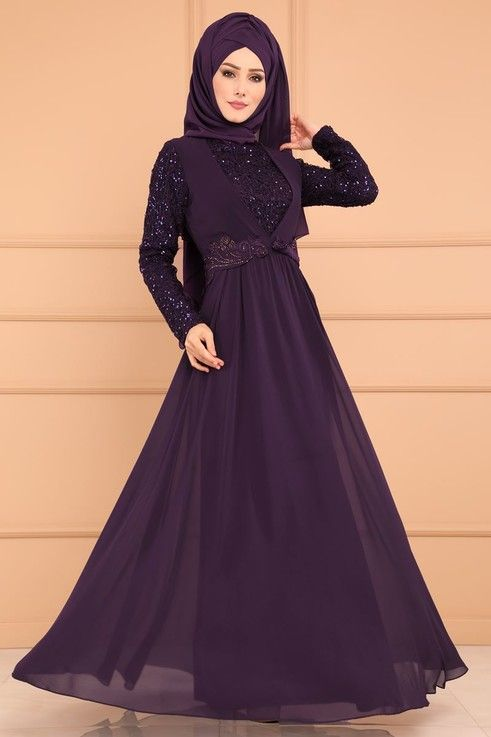 Modaselvim Abiye Jile Gorunumlu Pulpayet Abiye Alm52701 S Mor Wonderful Dress Formal Dresses Long Dresses