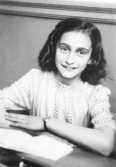 Anne Frank- died aged 15. Since I can remember, she has been one of my greatest inspirations.