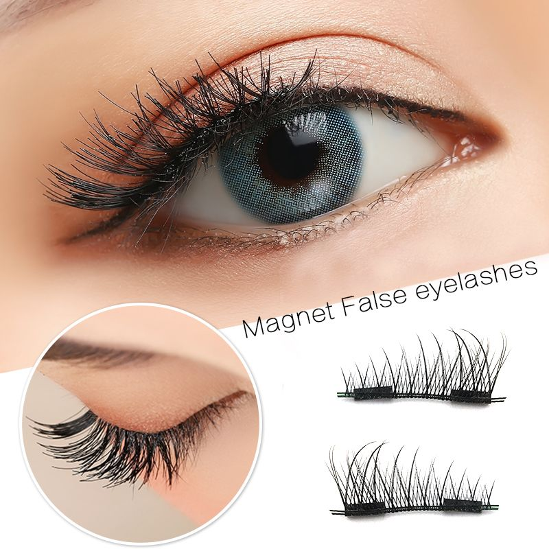 b51f09365d7 Only $7.19 , 1 Pair/4pcs Magnetic Eye Lashes 3d Mink Reusable False Magnet  Extension Handmade Magnetic Eyelashes High Quality Hot Sale