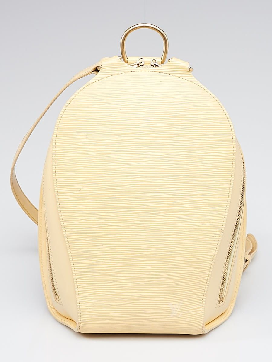 Louis Vuitton Vanilla Epi Leather Mabillon Backpack Bag Backpack