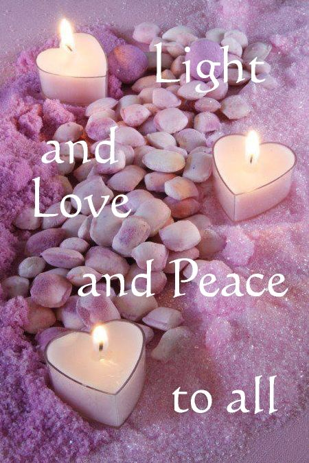 Light and love and peace to all. --------- Hoping for a wonderful 2016