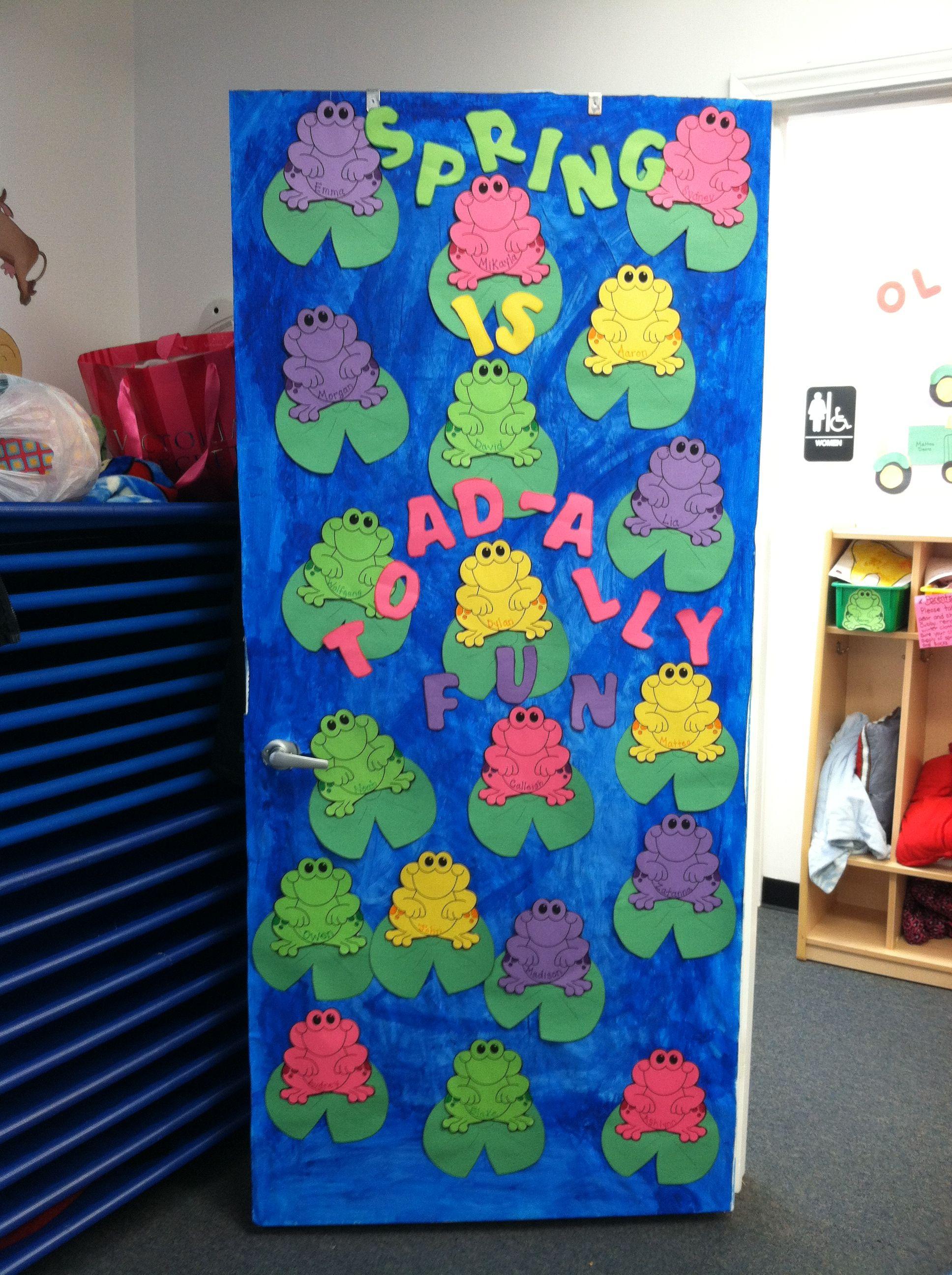 Classroom Door Decoration For Preschool : Spring pre school door ideas pinterest