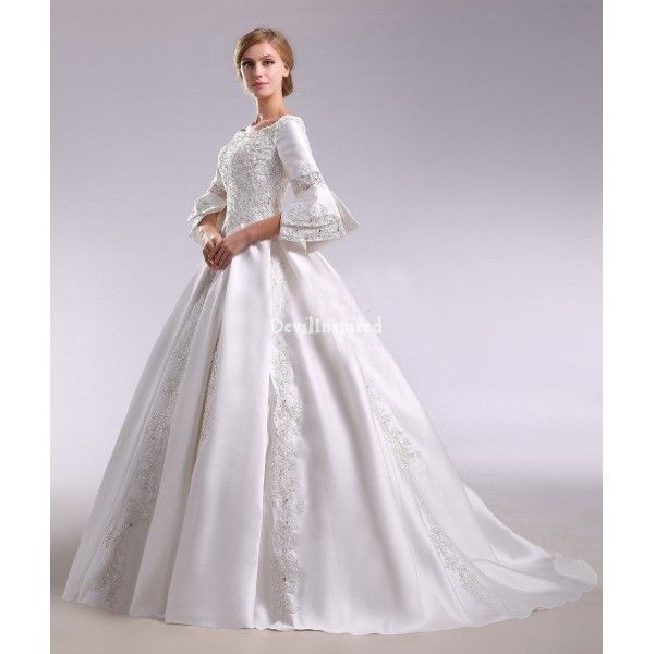 Vintage Victorian Wedding Dress - Ocodea.com