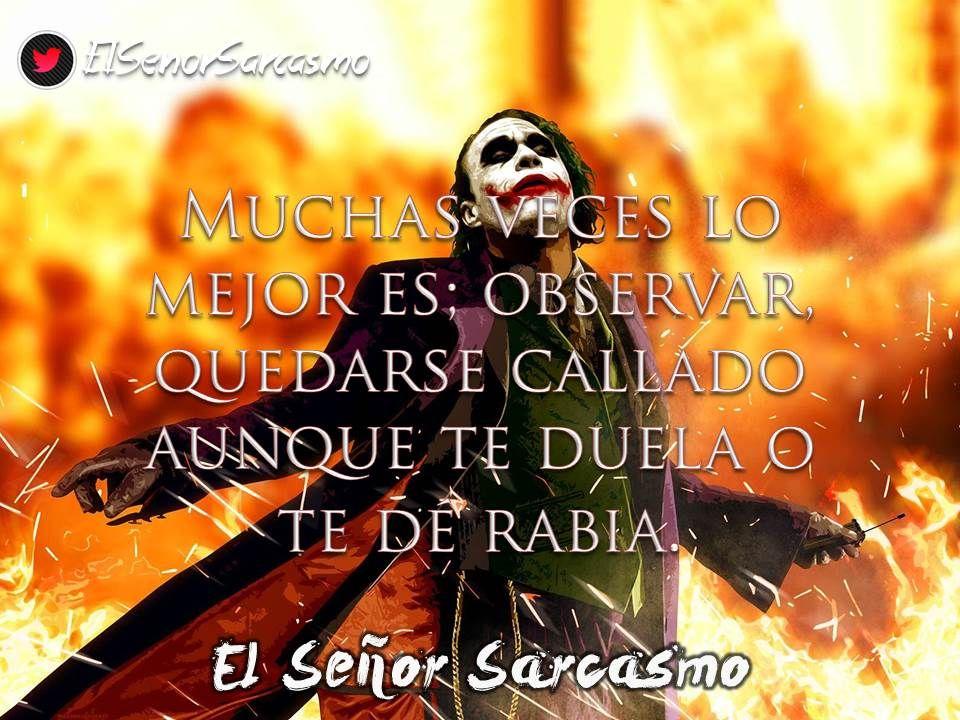 7 El Senor Sarcasmo Eisenorsarcasmo Twitter Sarcasmo Frases
