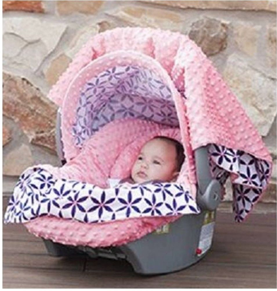 The whole caboodle cat canopy baby car seat cover 5 pc set new ...