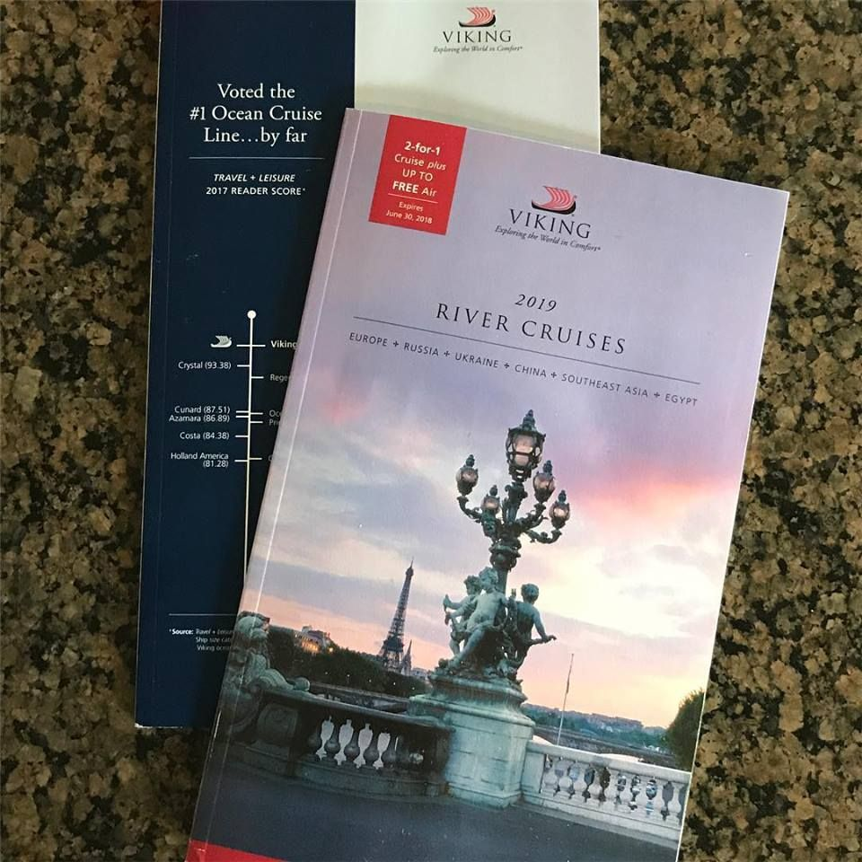I Received 2 Viking Cruise Brochure 1 For Viking Ocean And 1 For