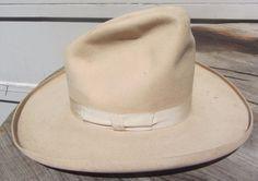 66f6609a7b0ba RARE ANTIQUE VINTAGE STETSON GUS PENCIL ROLL 1910S 1920S COWBOY   WESTERN  HAT £147.41 (BIN)