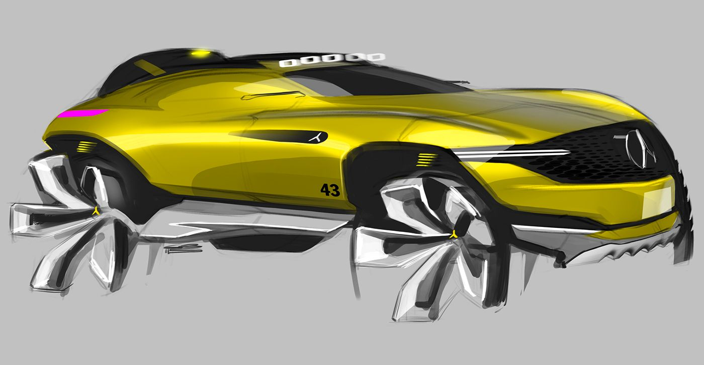Car design sketches 7 on behance sketches cars - Croquis voiture ...