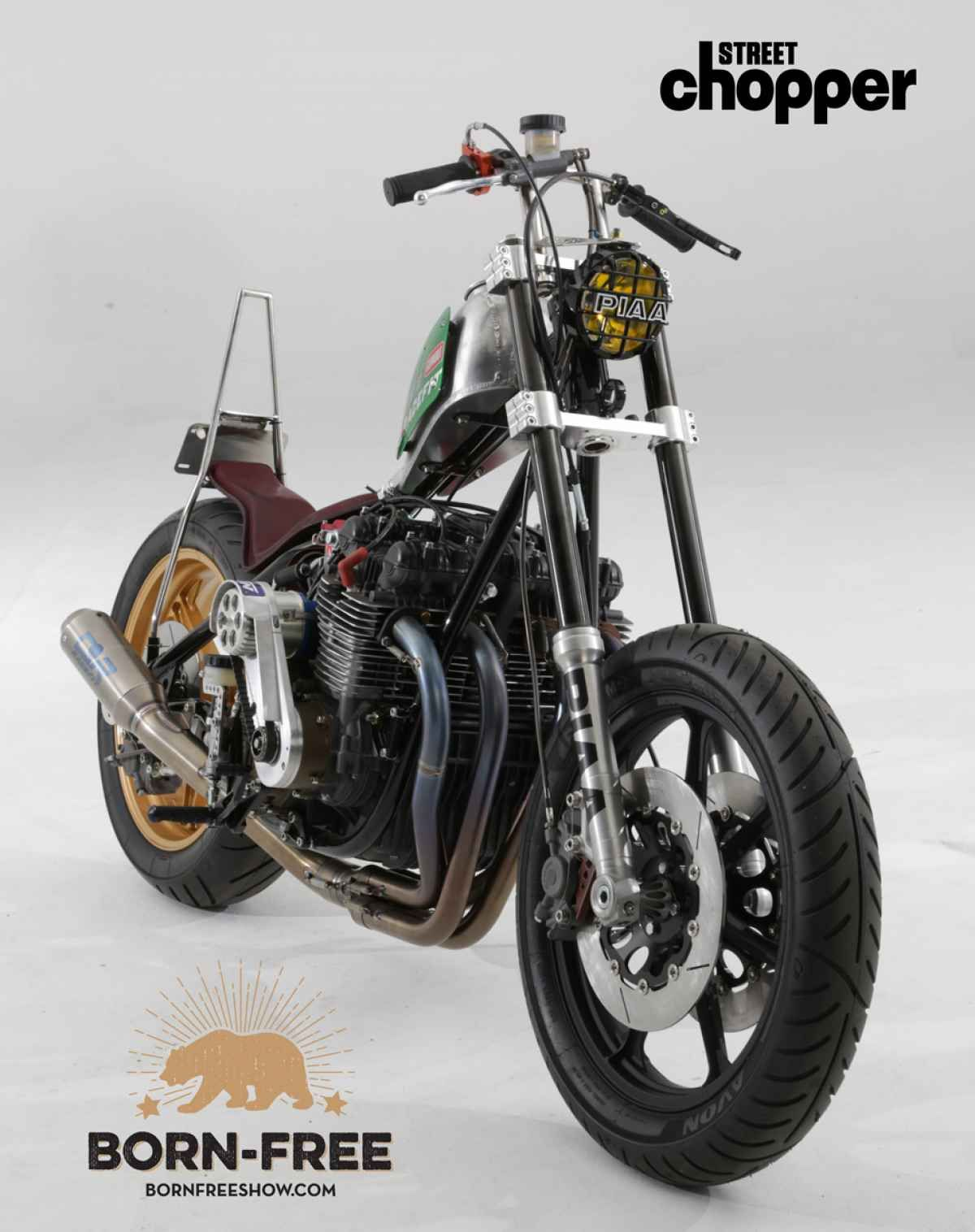 Exclusive Born Free 7 Invited Builder Jeff Wright in