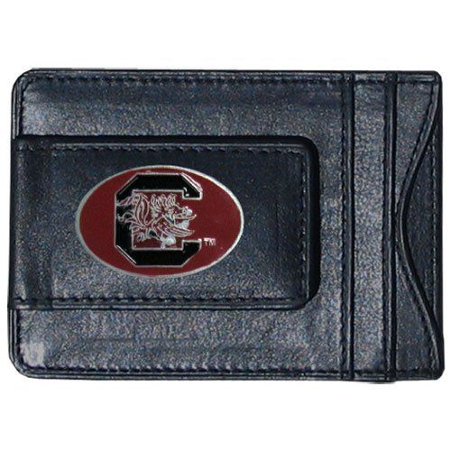 NFL Siskiyou Sports Mens Philadelphia Eagles Leather Money Clip//Cardholder One Size Black