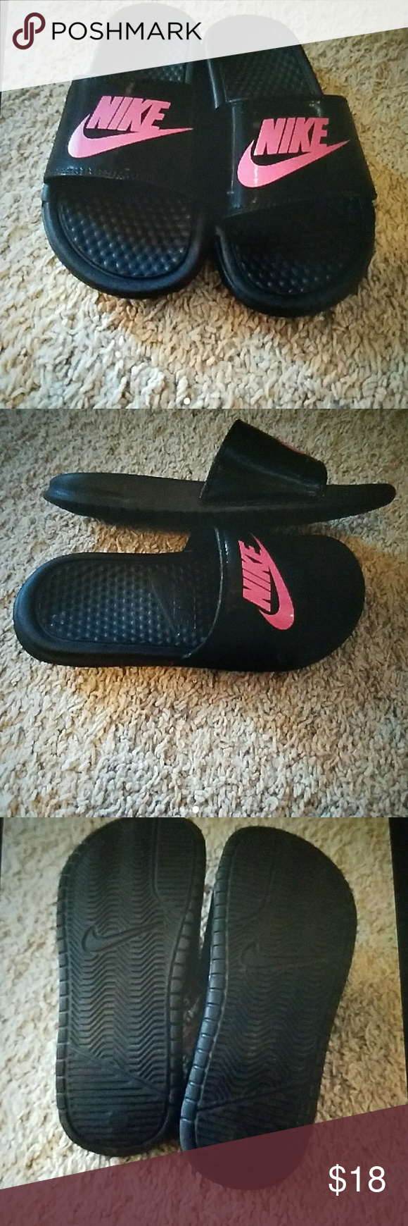 acbfd7da6b4848 Girls Nike Sandals sz3 Good gently used condition light wear signs Nike  Shoes Sandals   Flip Flops