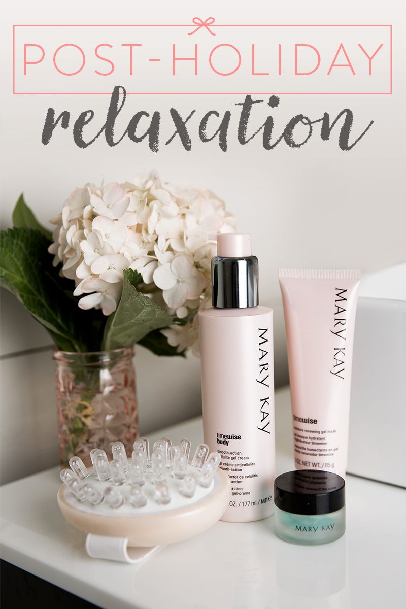 We're ready to unwind after the holiday hustle with a relaxing spa day at home. TimeWise Body™ Smooth-Action® Cellulite Gel Cream takes glycolic acid, caffeine, argan oil plus botanical and marine extracts and combines them into a powerful formula that visibly minimizes stubborn cellulite and recaptures skin's youthful appearance.   Mary Kay