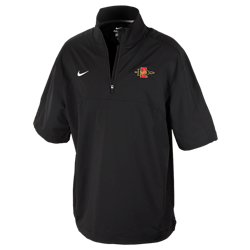 f924bf5ee83a Nike Sideline Coaches Hot Jacket ¼ zip short sleeve jacket with left chest  SD Arrow logo