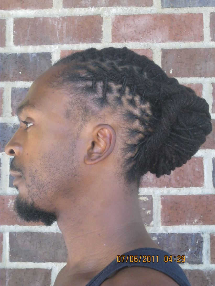 Loc Hairstyles For Men Short Locs Hairstyles Dreads