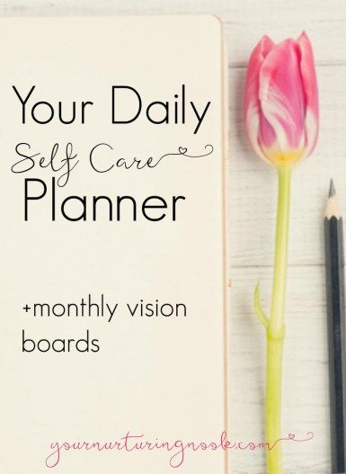 Soul Care Take This Self Care Assessment  Self Care Planner