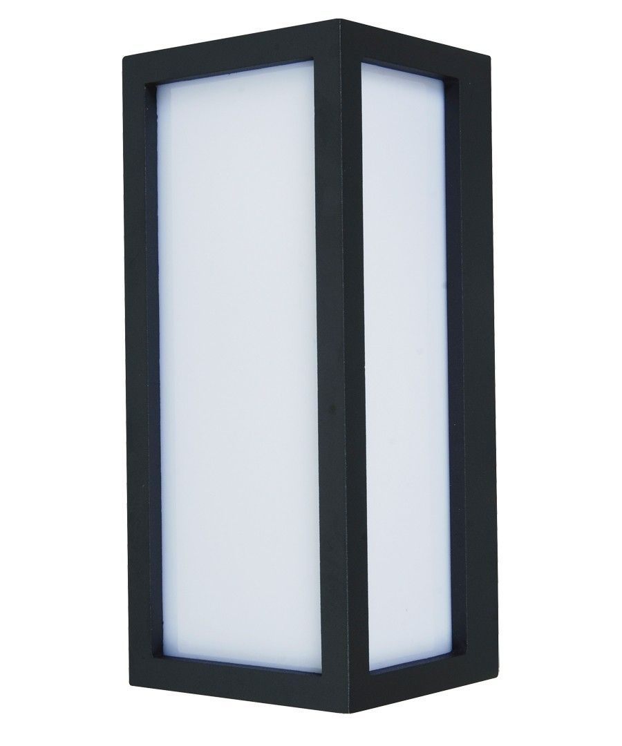 $90 Tucson 1Lt Plain Exterior Wall Bracket In Charcoal | Outdoor Lighting |  Lighting