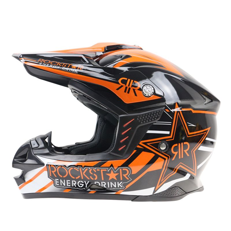 Brand New Ktm Motorcycle Motocross Helmet Off Road Moto Casco