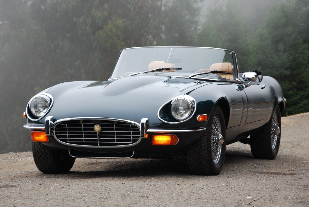 Jaguar Xk E Early 70s One Of The Best Designed Cars