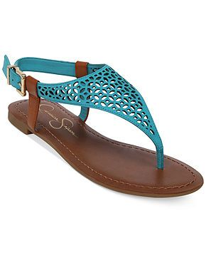 8371b4c7235 Jessica Simpson Grile Flat Thong Sandals - Shoes - Macy s