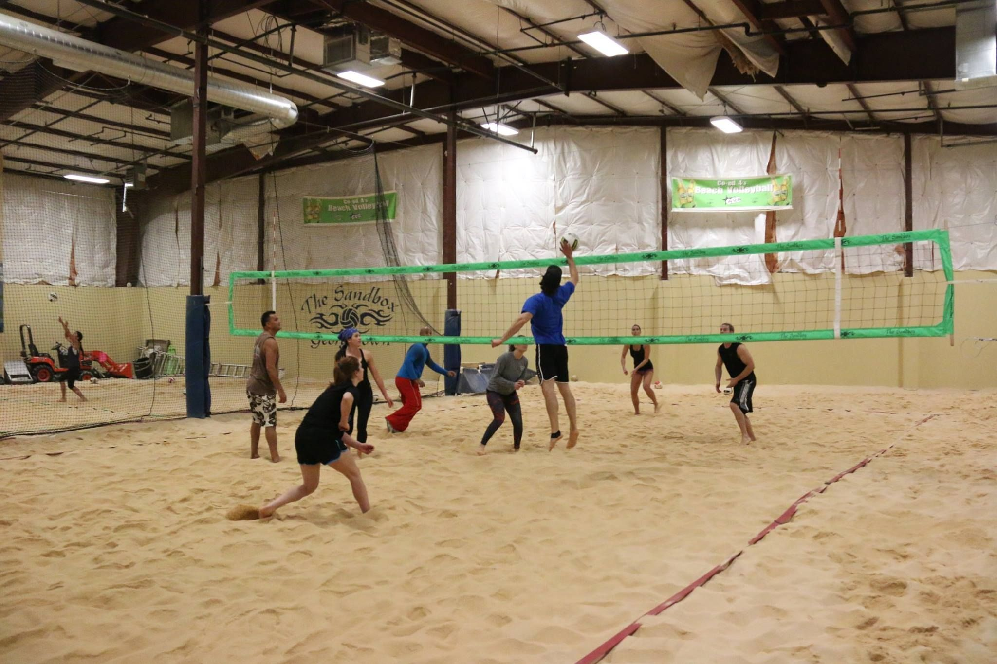 Winter Spring 2018 Leagues Beach Volleyball Court Beach Volleyball League