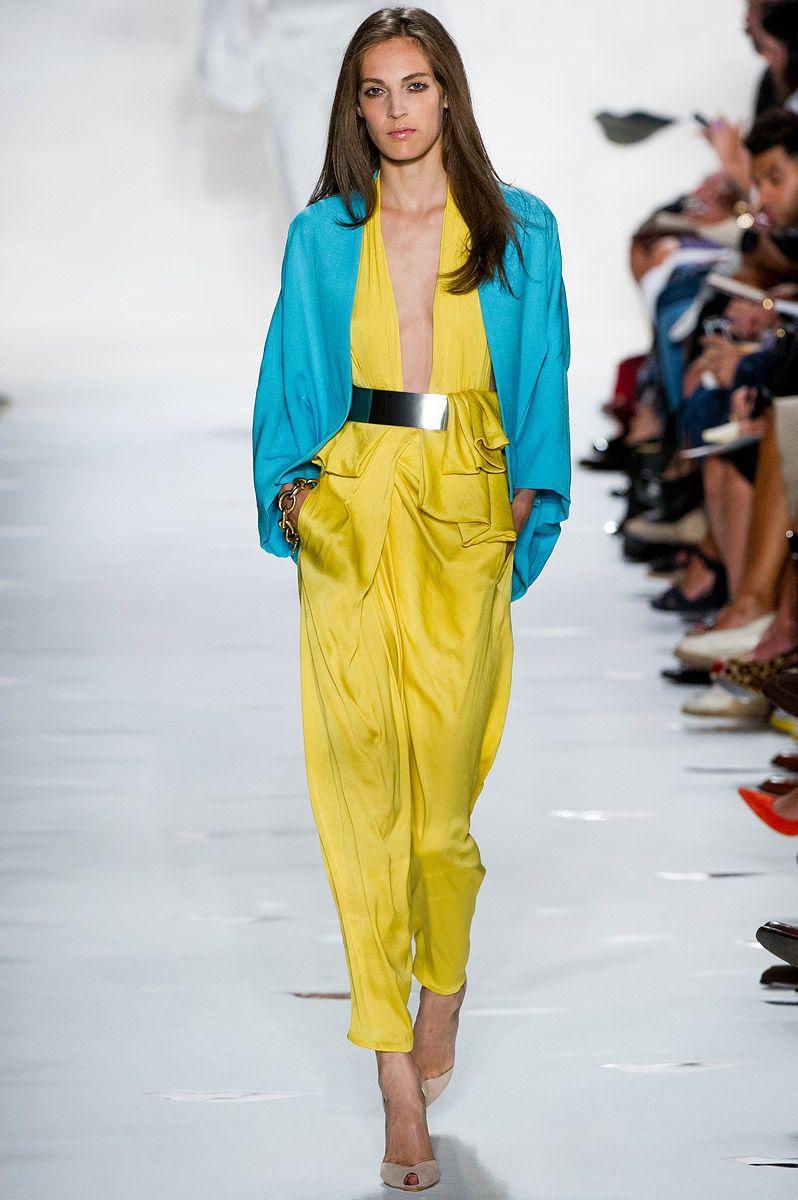Fashion style Furstenberg von diane spring runway review for girls