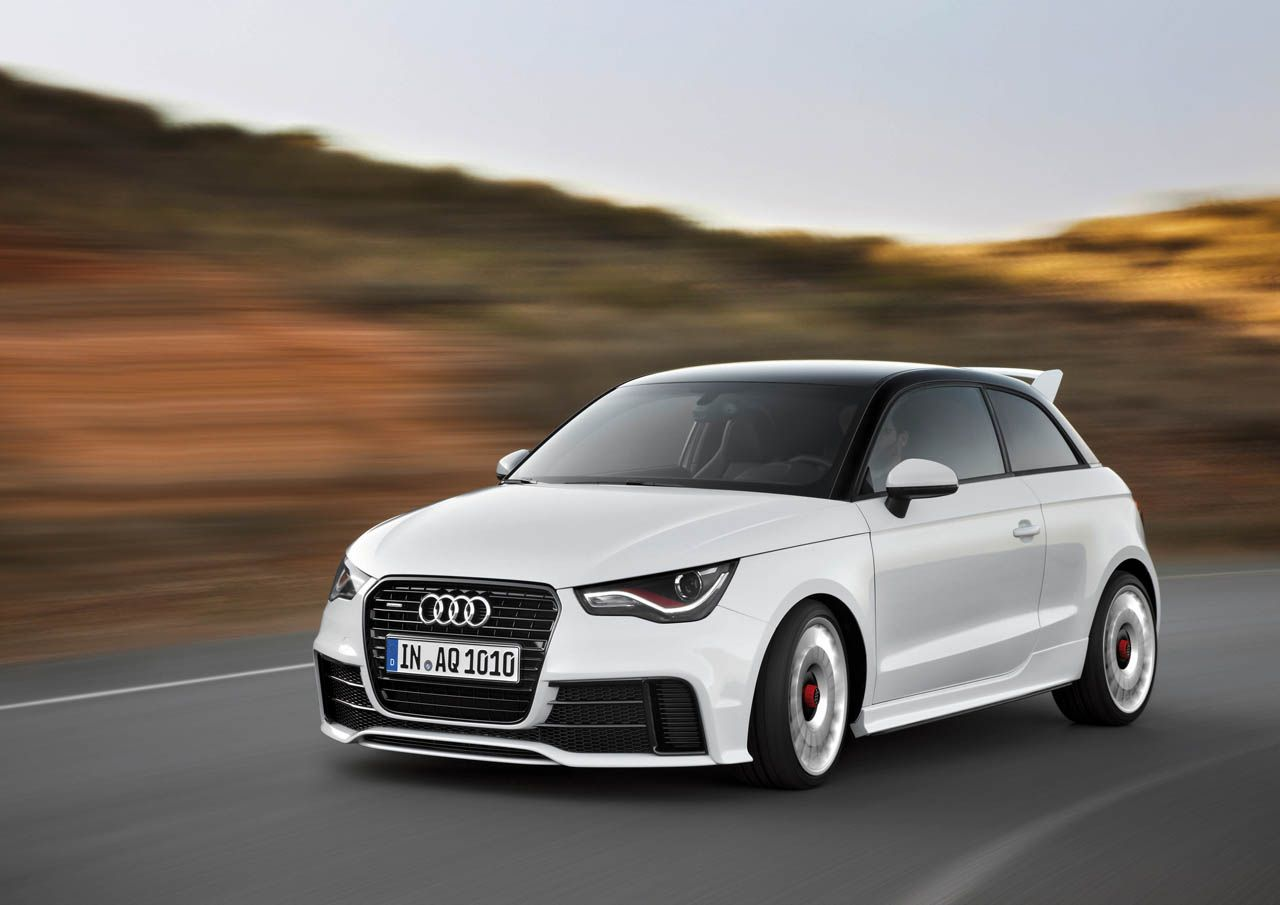 2012 Audi A1 Quattro Limited Edition With Only 333 Units Built