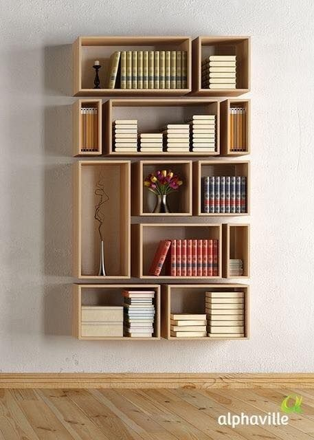 Biblioteca #BookShelves estanterias rincon Pinterest neues