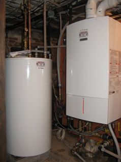 American Heat And Hot Water Gas Boiler Heating Systems