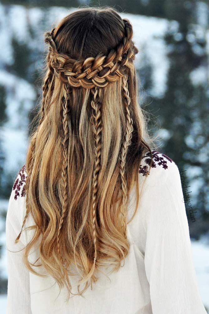 Exceptional Winter Hairstyles Every Stylish Lady Should Be Aware Of Cool Hairstyles Winter Hairstyles Hair Styles