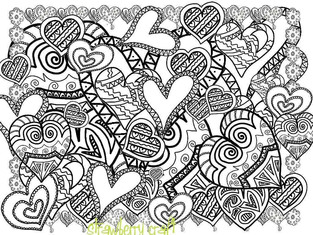Abstract Doodle Art Coloring Pages - Coloring Panda | arts n crafts ...