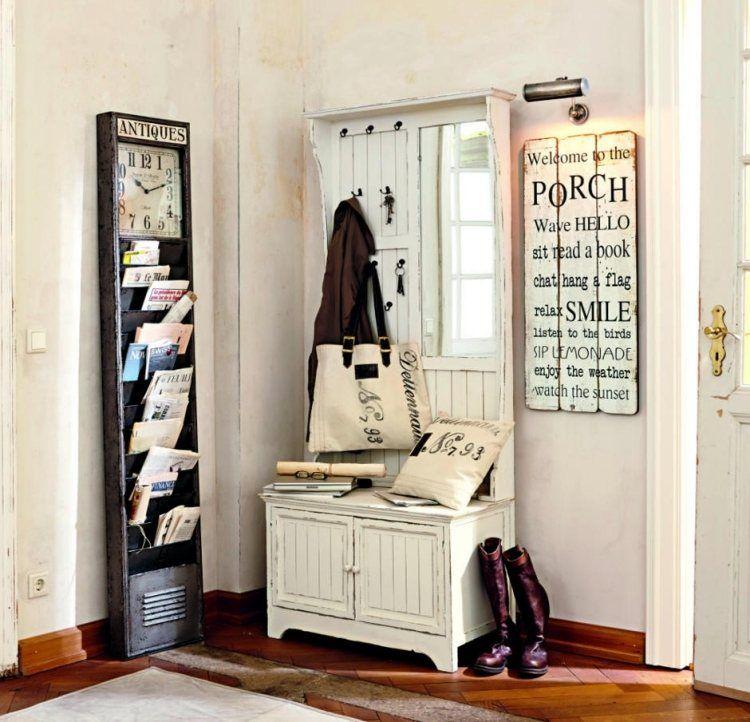 Wonderful Meubles Et Idées Déco Couloir Et Entrée De Style Cottage!