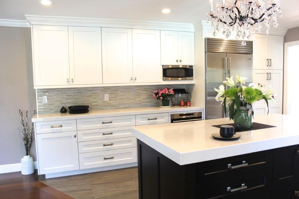 ON:U Kitchen With Pearl Paint   Ovation Cabinetry