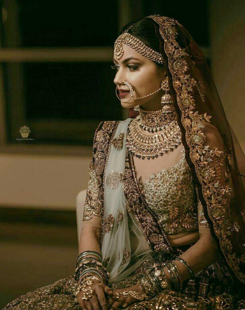 8b85c1d493076 @taajshoker Indian Wedding Dresses, Indian Wedding Lehenga, Big Fat Indian  Wedding, Punjabi