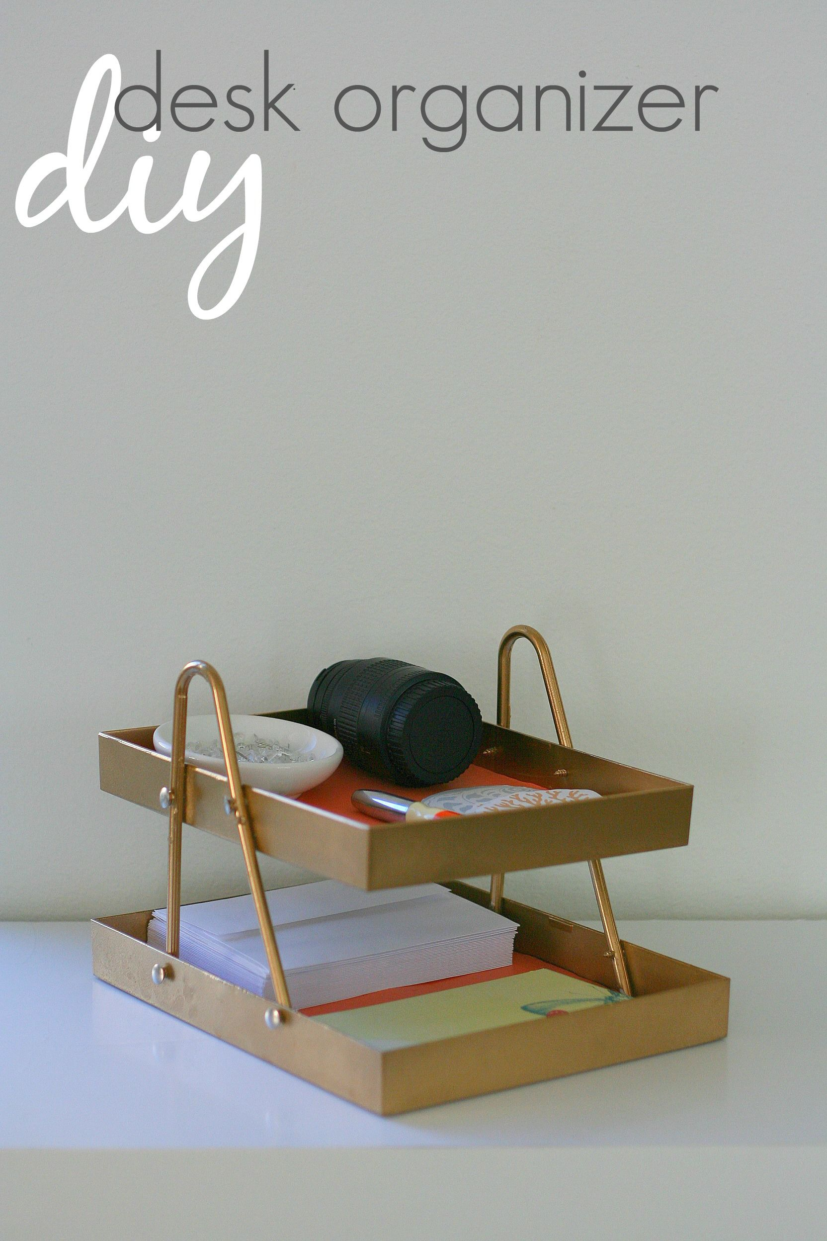 how-to-make-desk-organizer-from-a-hanger-and-two-frames.jpg 1,664×2,496 pixels
