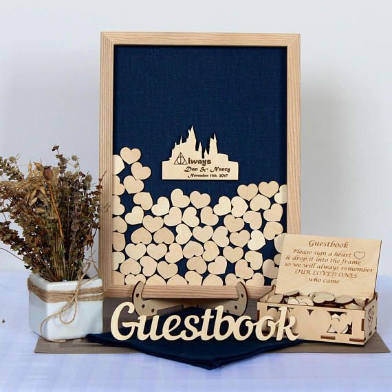 Harry Potter Gift Guest Book Always Wedding Frame