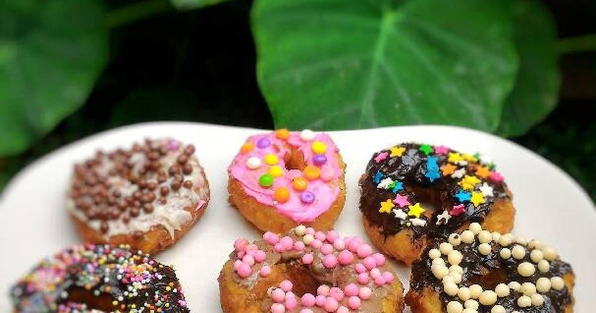 Resep Donat Pisang Kepok Oleh Adis Sabrina Resep Cokelat Hidangan Penutup Donat Panggang