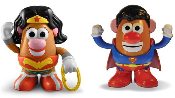 DC Comics Superman Mr Potato Head Collectible Toy