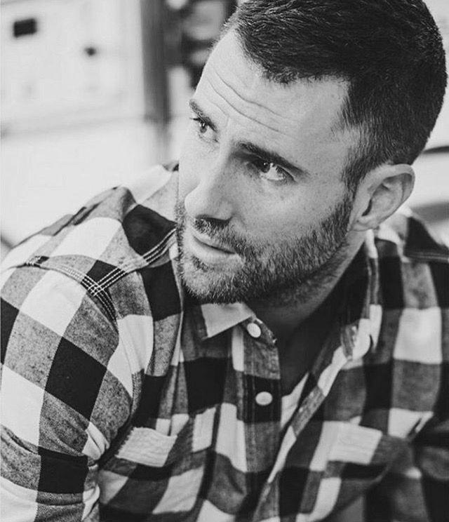Pin by J Mac on Men's fashion I like | Blonde beard, Beard |Haircut Beard Adam Levine