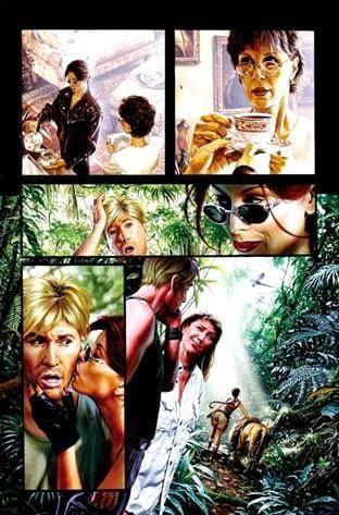 Tomb Raider / The Greatest Treasure of All 9 /  2000 (Joe Jusko)