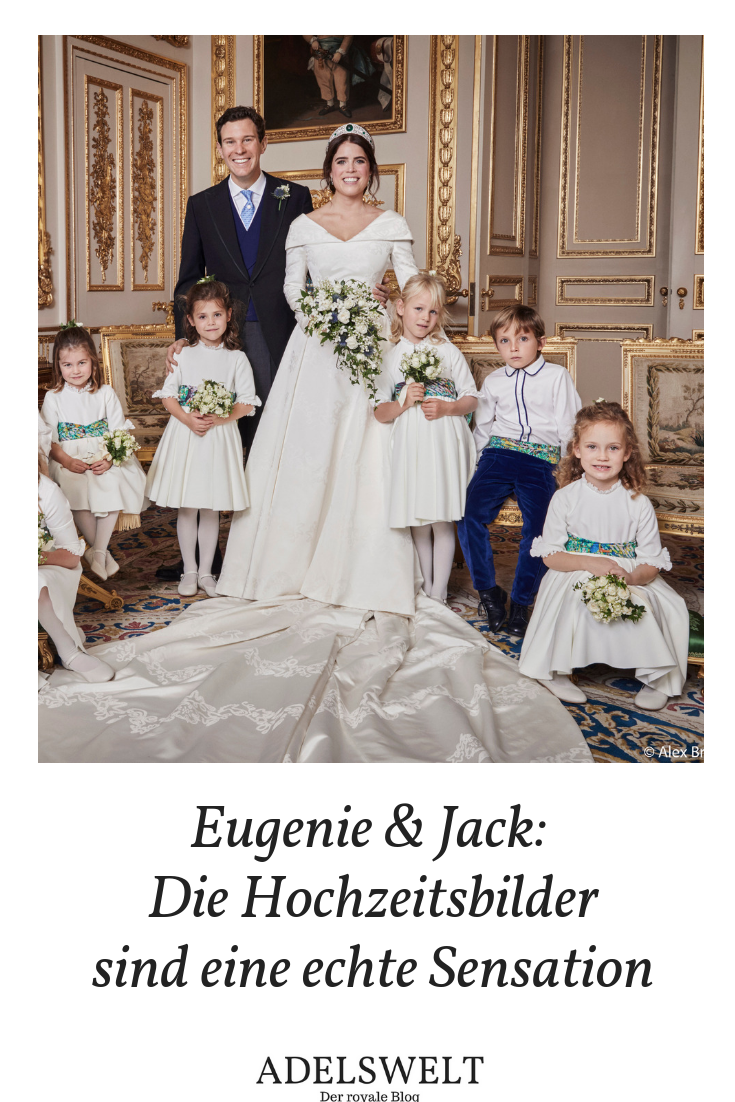 Eugenie Jack Die Hochzeitsfotos Sind Eine Sensation Prinzessin Eugenie Royale Hochzeiten Hochzeitsfotos