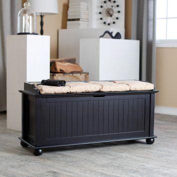 storage bench | House Ideas | Pinterest