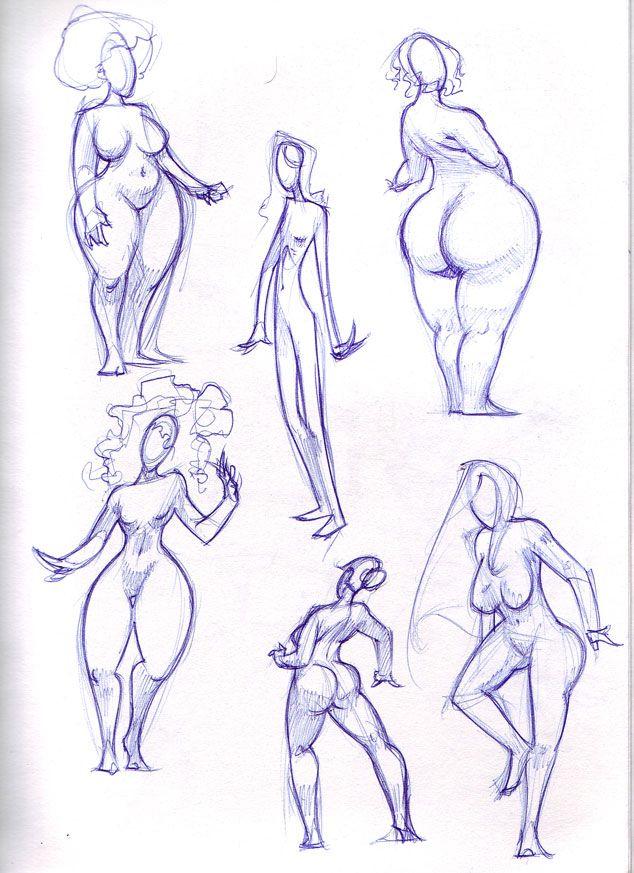 female shapes by ~biz02 on deviantART
