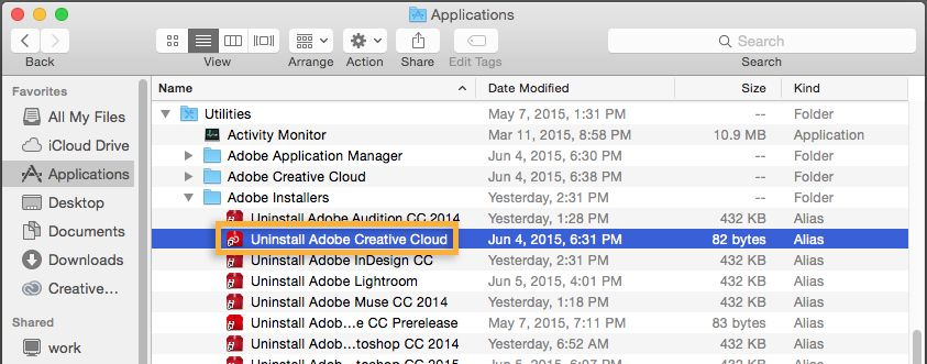 Uninstall app How to uninstall, Creative cloud, Graphic